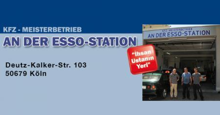 KFZ-Meisterbetrieb an der Esso-Station