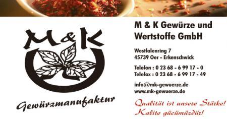 M & K Gewürze und Wertstoffe GmbH