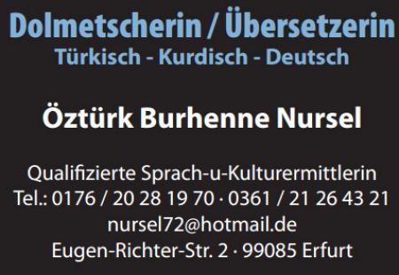 Dolmetscherin / Übersetzerin