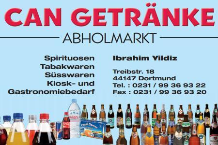 Can Getränke   ABHOLMARKT