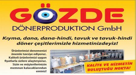 GÖZDE DÖNER PRODUCTION GmbH