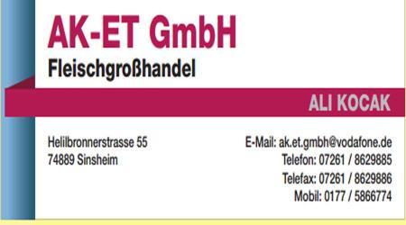 AK-ET GmbH Fleischgroßhandel