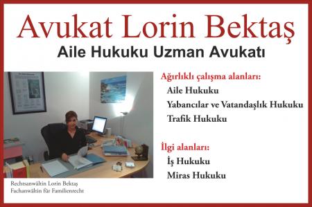 Avukat Lorin Bektaş